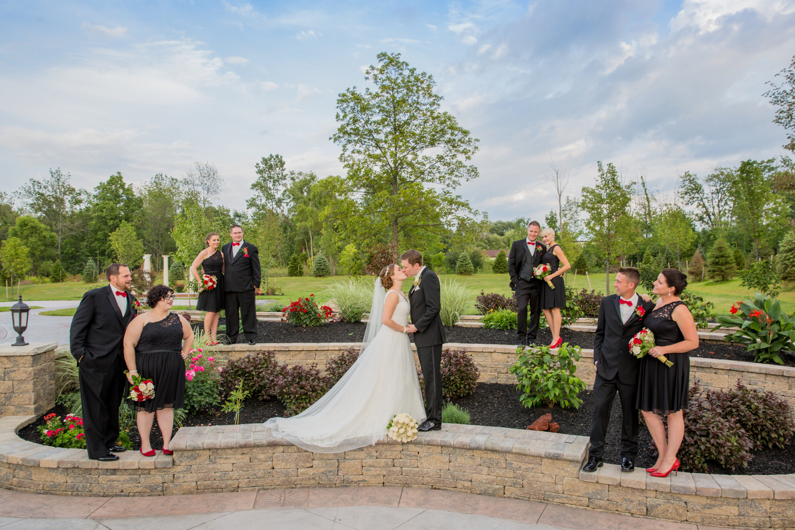The columns banquet facilities wedding venue in buffalo ny new outdoor patio garden junglespirit Image collections